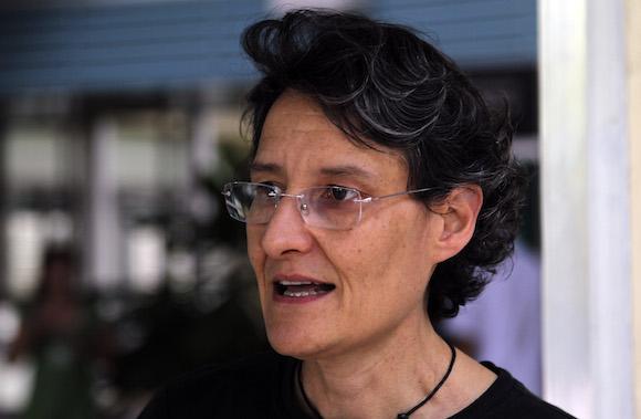 Doctor Roberta Andraghetti is training the Cuban health staff. (Cuba Debate)