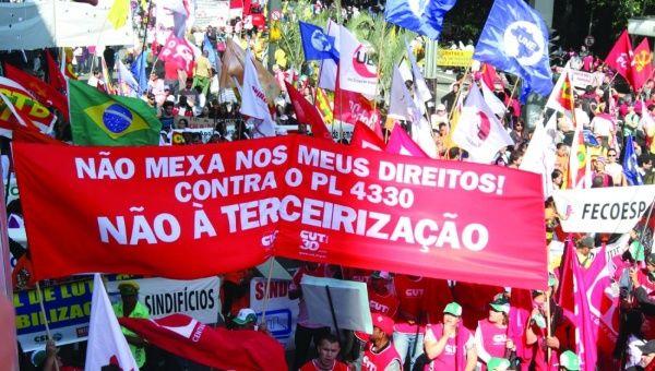 Social Movements Hold Demonstrations across Brazil | News