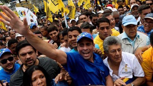 what is the venezuelan opposition doing to stabilize venezuela