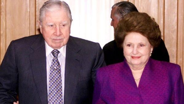 Pinochet S Widow Denies Stealing Millions In Public Funds News Telesur English