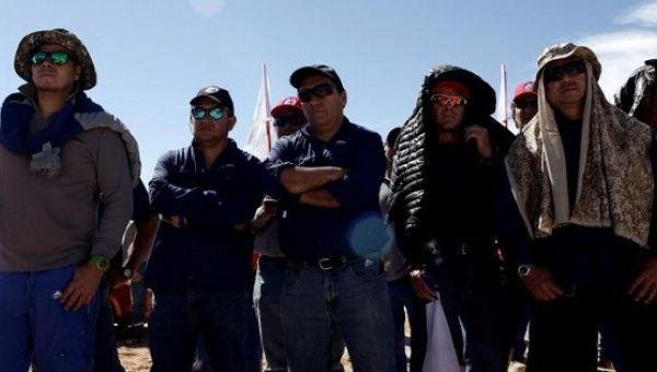 Chiles kopparproduktion ater i gang