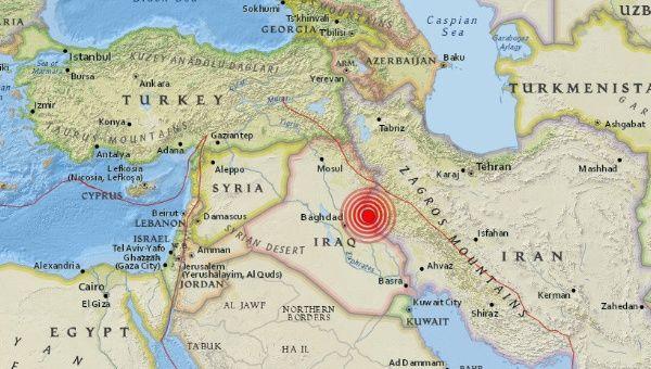 5 5 Earthquake Felt In Iraq Iran News Telesur English