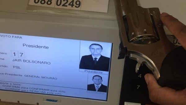 Brazil Elections Jair Bolsonaro Supporters Film Themselves Voting