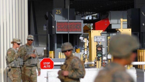 US Lays Barbed Wire at Tijuana Border as Caravan Draws