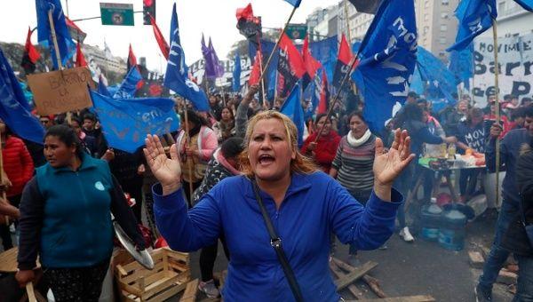 Argentine workers