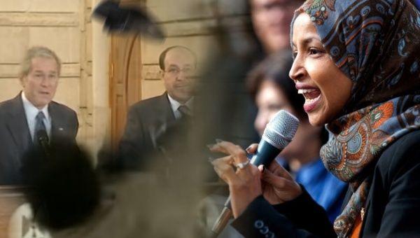 Ilhan Omar Calls US Iraq Invasion 'Illegal' on 16th Anniversary