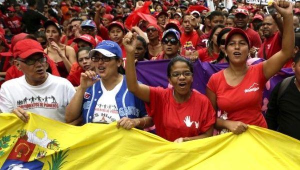 Zajárova says Venezuela does not represent a threat to international stability and security.