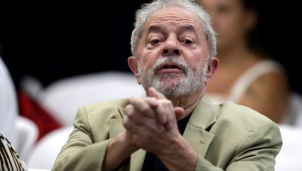 Brazilian former president Luiz Inacio Lula da Silva participates in an academic event in Sao Paulo, Brazil, March 16, 2019.