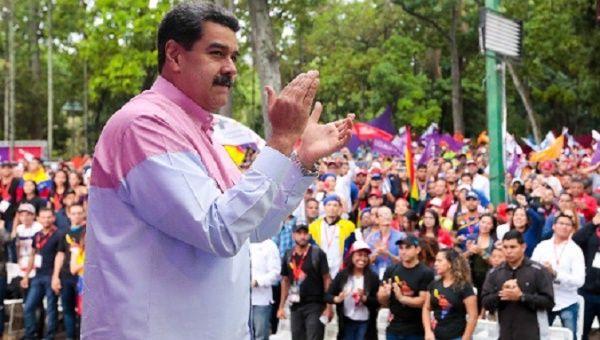President Nicolas Maduro said he will
