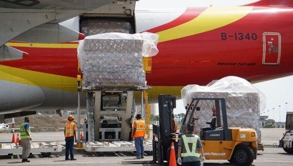 Chinese medical shipments to Venezuela