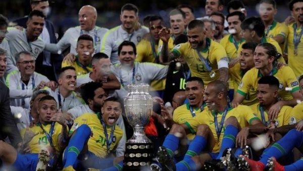 Image result for brazil copa america champion 2019