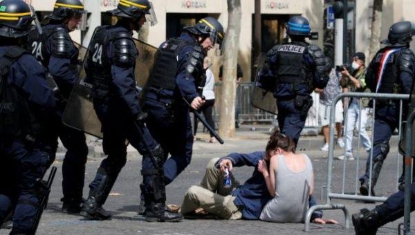 French Police Arrest 152 Yellow Vest Protestors on Bastille
