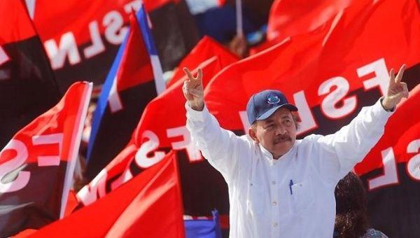 Nicaraguan President Daniel Ortega, July 2018