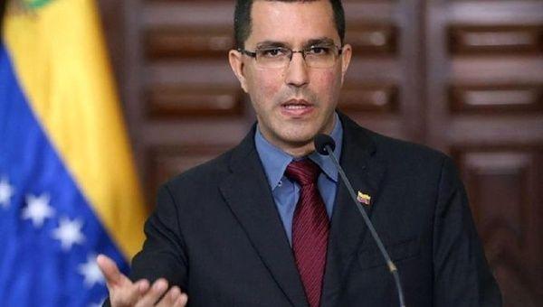 Venezuelan Foreign Affairs Minister Jorge Arreaza
