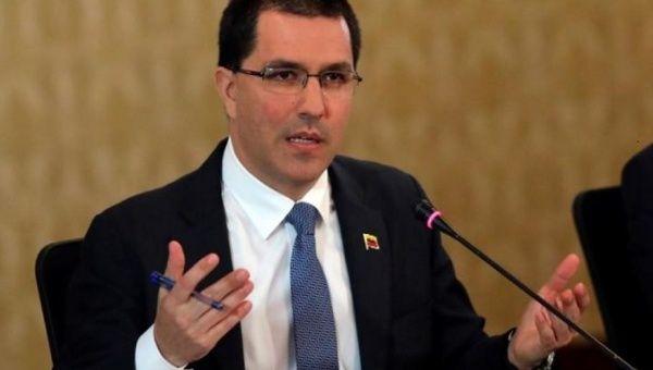 Venezuelan Foreign Minister Jorge Arreaza  2019