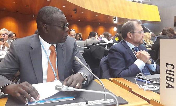 Cuban Ambassadorto the United Nations in Geneva Pedro Luis Pedroso said US blockade is illegal and hinders trade.