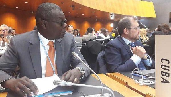 El embajador cubano ante las Naciones Unidas en Ginebra, Pedro Luis Pedroso, dijo que el bloqueo de Estados Unidos es ilegal y obstaculiza el comercio.