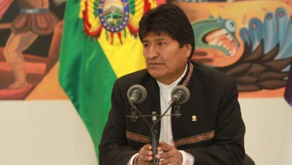 President Evo Morales.
