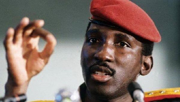 Photography of Thomas Sankara, Burkina Faso.