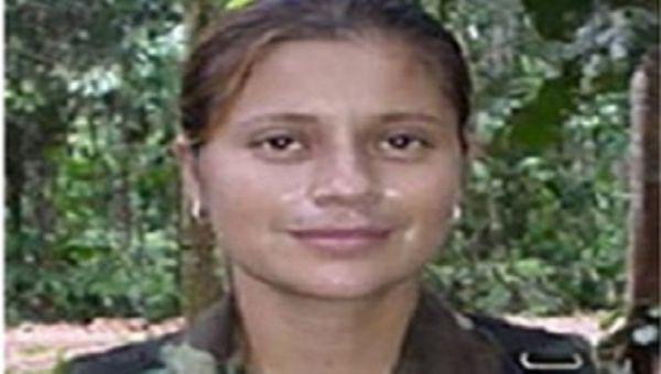 Former guerrilla member Astrid Conde