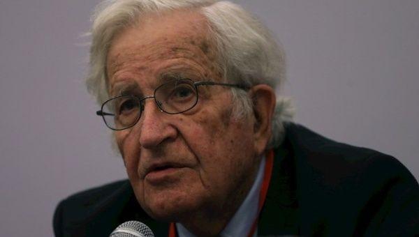 Linguistic and philosopher Noam Chomsky, U.S., 2020.