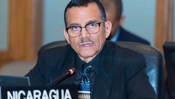 Luis Alvarado, Nicaragua representative to OAS