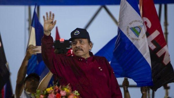The president of Nicaragua, Daniel Ortega