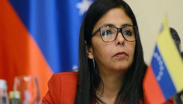 Vice-President Delcy Rodriguez, Caracas, Venezuela, 2020.