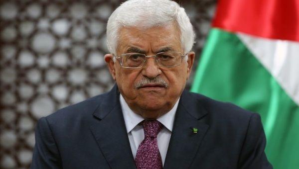 Palestine's President Mahmoud Abbas.