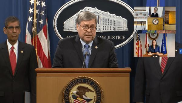 File: U.S. Justice Department announced trumped up charges against Venezuelan officials. April 15, 2020.