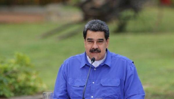 President Nicolas Maduro, Caracas, Venezuela, Oct. 14, 2020.