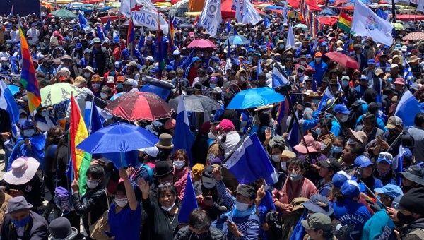 Bolivia's Social Movements Hold Massive Victory Celebration