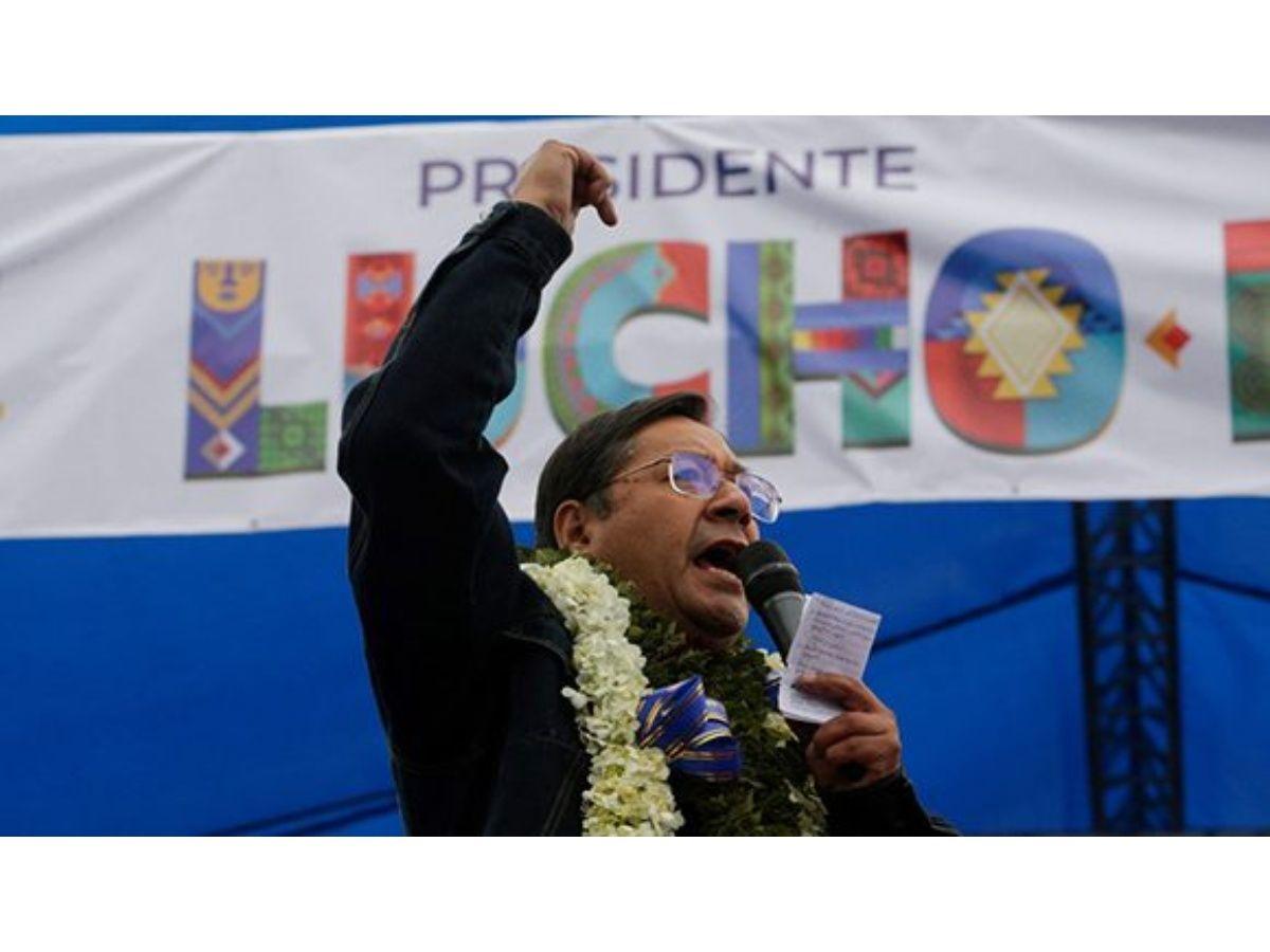 Bolivia: Luis Arce Calls for OAS Almagro's Resignation