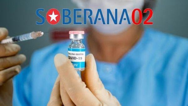Soberana 02, einer der vier kubanischen COVID-Vakzine | Bildquelle: https://www.telesurenglish.net/news/CubaS-COVID-19-Cases-on-the-Rise-Vaccine-Trials-Advance-20201223-0016.html © Twitter@CG_CubaMilano | Bilder sind in der Regel urheberrechtlich geschützt