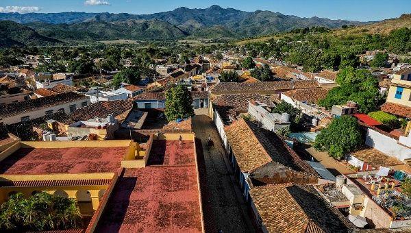 The city of Trinidad, Cuba.