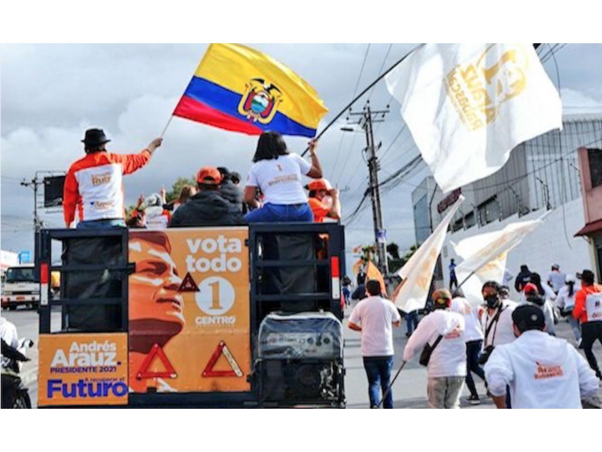 Ecuador: Arauz Rejects Ban on the Use of Rafael Correa's Image