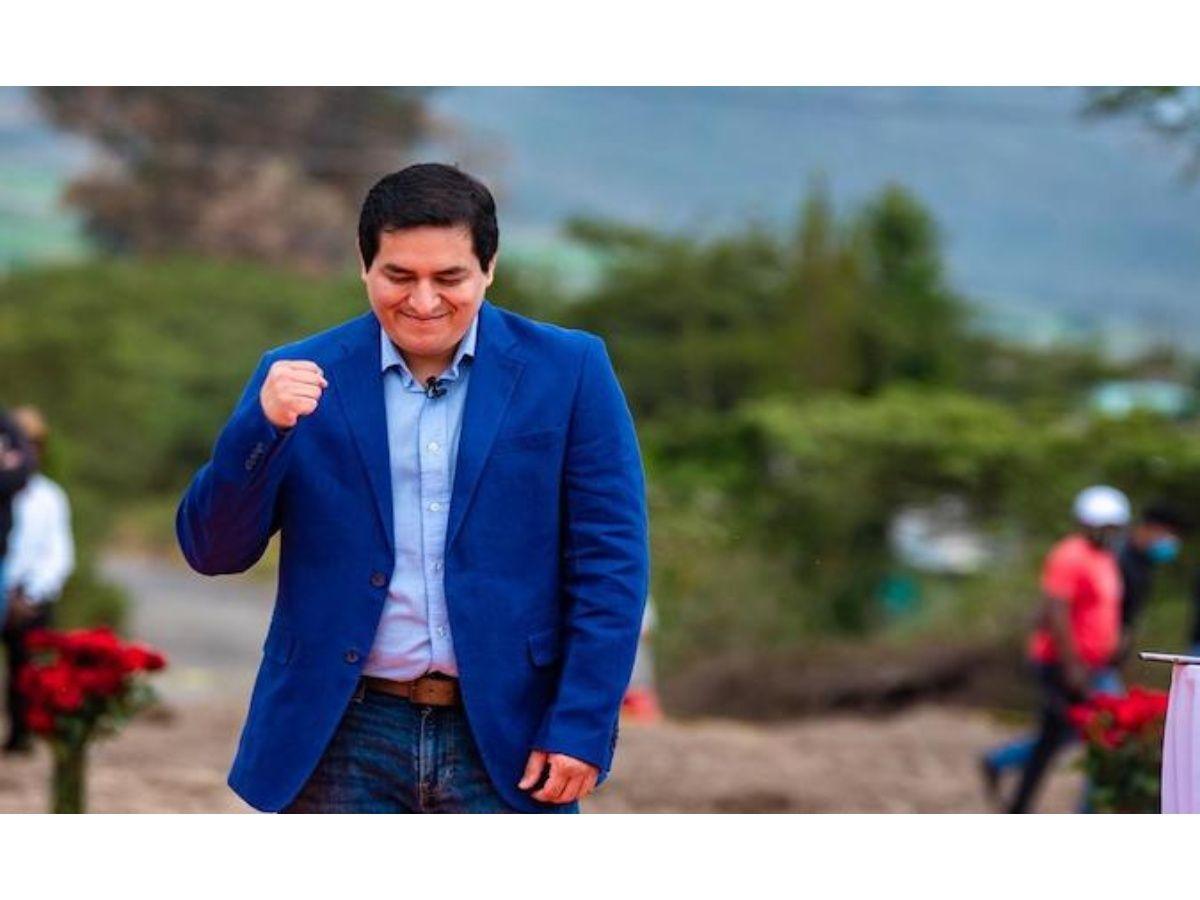 Andres Arauz Favorite to Become Ecuador's Next President