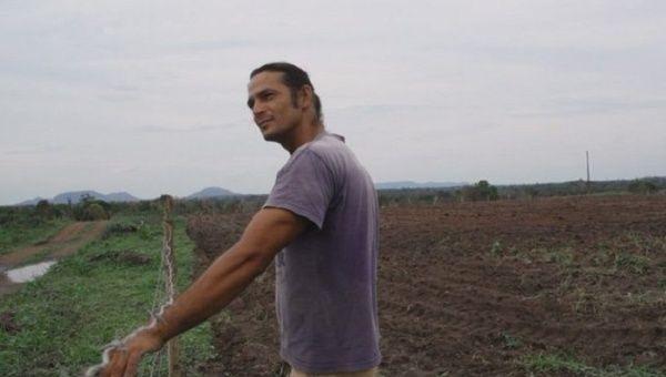 Agricultural worker Fernando Araujo dos Santos, Brazil.