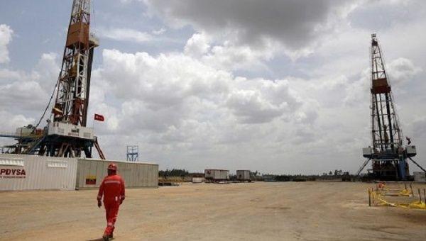 PDVSA's gas plant, Venezuela March 21, 2021.