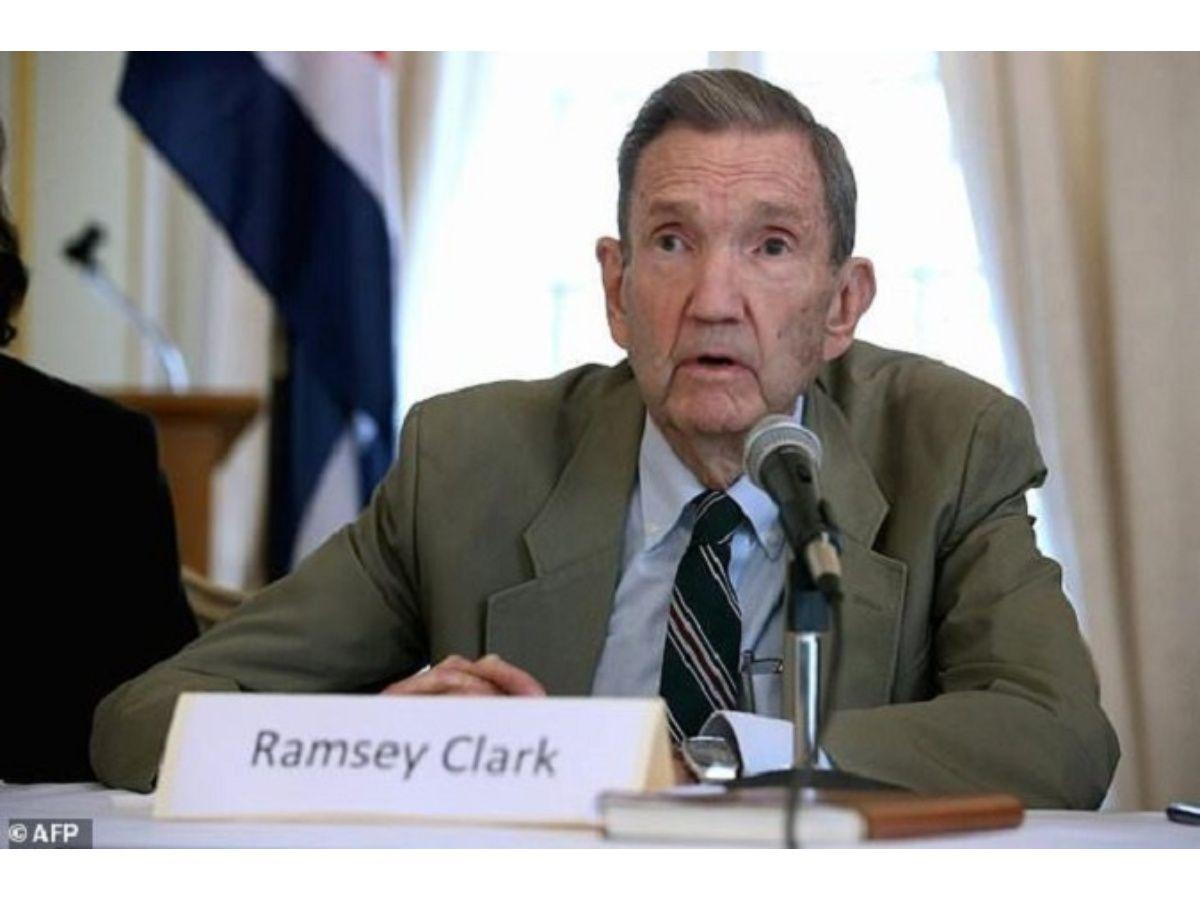 Cuban and Venezuelan Authorities Mourn Ramsey Clarks's Death