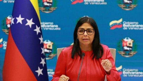 Vice President Delcy Rodriguez described as